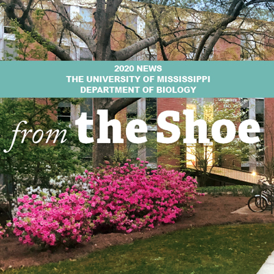 The Shoe - 2020 News - The Biology Department of the University of Mississippi