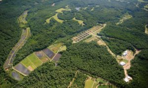aerial photo of the Biological Field Station