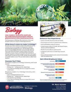Biology Factsheet